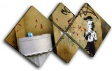 Graffiti Banksy Street - 13-1422(00B)-MP19-LO